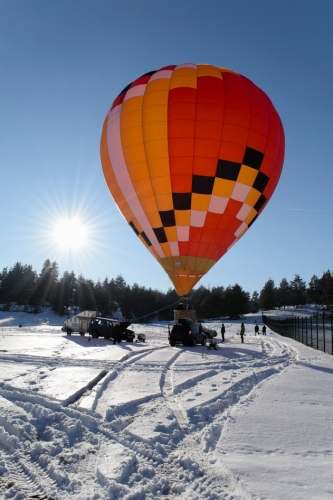 The first balloon model 902TA with a volume of 3000 m3 was produced